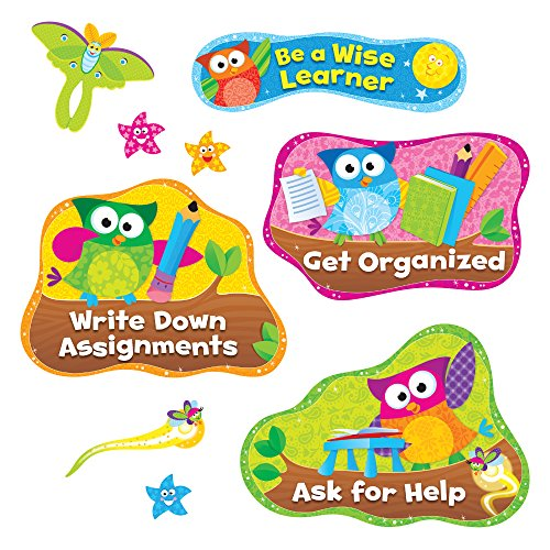 - Owl-Stars!™ Study Habits Bulletin Board Set