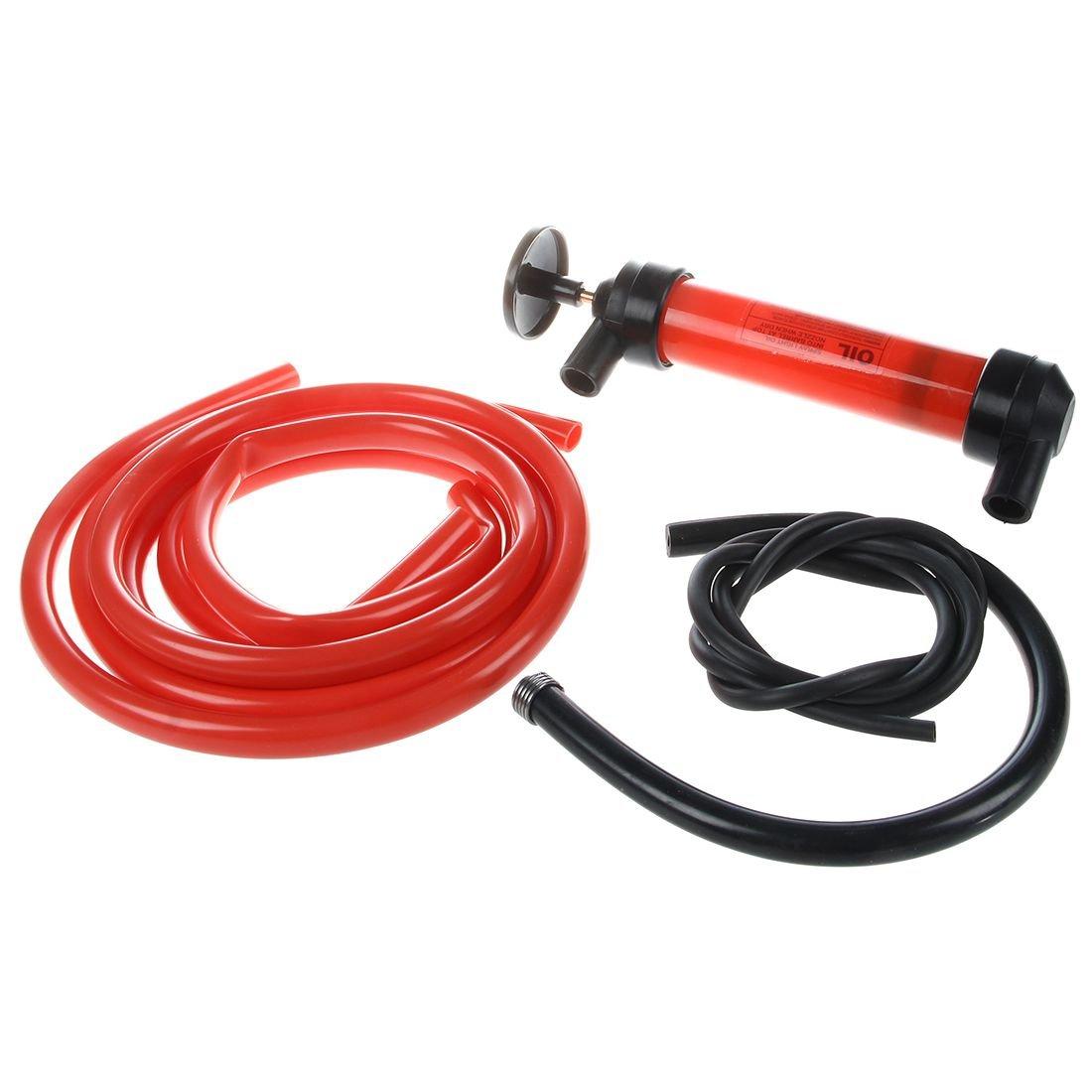 Toogoo Car Water Oil Fuel Change Transfer Gas Liquid Pipe Siphon Tool Air Pump Kit by Toogoo (Image #3)