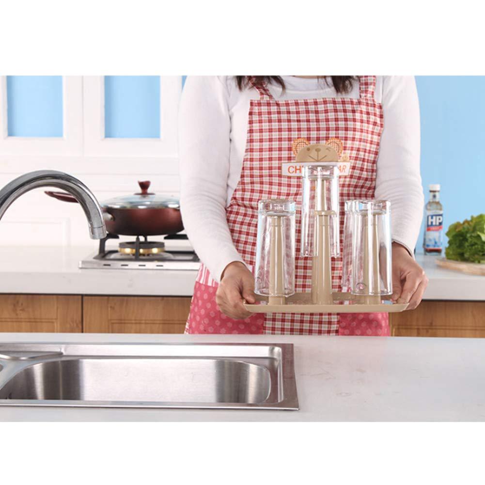 XHMY Cup Holder Glass Drain Rack Mug Mug Holder,Household Water Cup Holder
