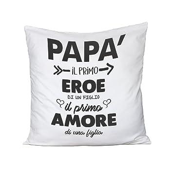 Cojín Día Del Padre Dad, Il primo Eroe De Un Hijo, El primer ...
