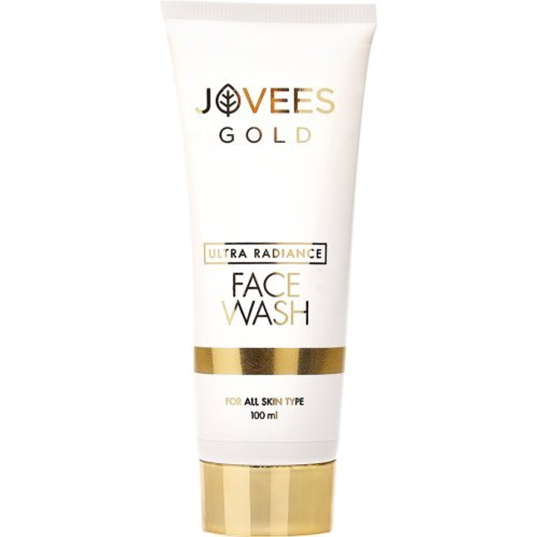 Jovees Herbals Ultra Radiance 24K Or Face Wash 100 ML pour tous les types de peau