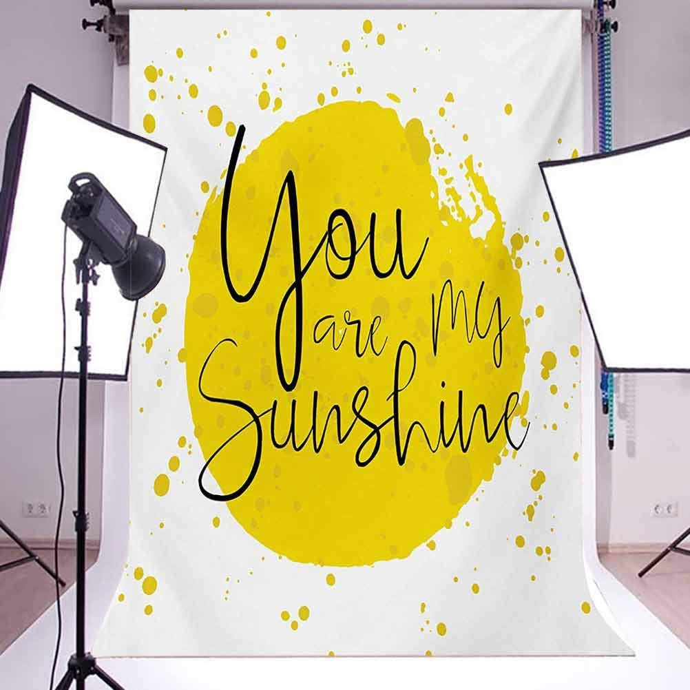 10x15 FT Photo Backdrops,Circular Color Splash Outspread Brushstrokes with Inspirational Quote Love Valentines Background for Baby Shower Birthday Wedding Bridal Shower Party Decoration Photo Studio