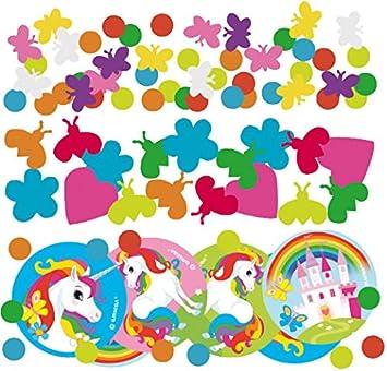 Confeti * arco iris de unicornio * Decorar Cumpleaños para ...