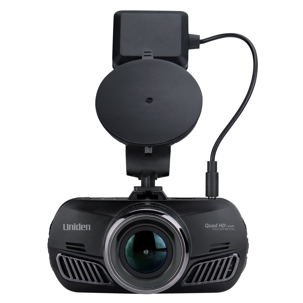 1080p Full HD Dash Cam Uniden DC3 Loop Recording 2.7 LCD G-Sensor with Collision Detection 8GB Micro SD Card Included 2.7 LCD Geo-Tagging GPS 170-degree Wide Angle Lens