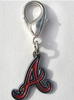 product image for Diva-Dog MLB Baseball 'Atlanta Braves' Licensed Team Dog Collar Charm