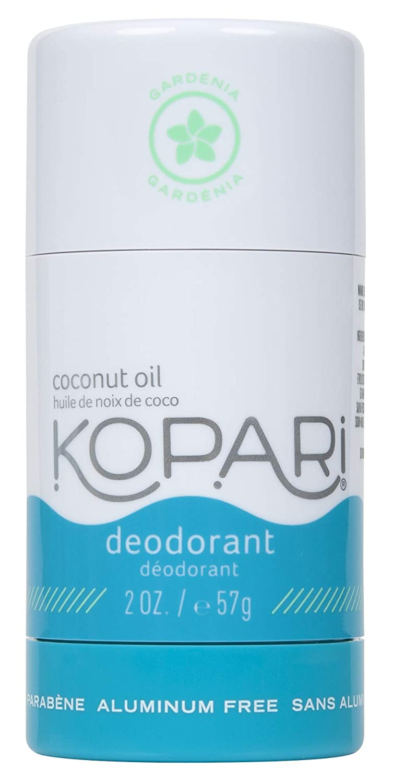 Kopari Aluminum-Free Deodorant Gardenia   Non-Toxic, Paraben Free, Gluten Free & Cruelty Free Men's and Women's Deodorant   Made with Organic Coconut Oil   2.0 oz
