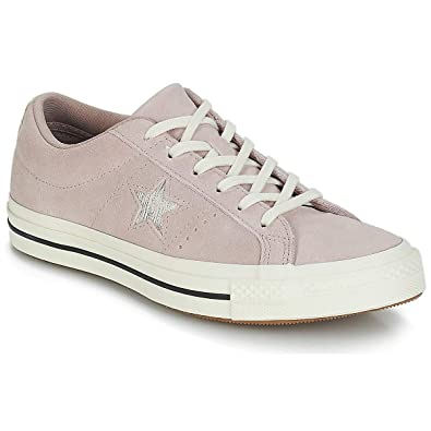 f0be48b58bc0 Converse One Star Ox Unisex diffused Taupe Silver Egret (5 D(M