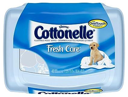 Cottonelle diseño de frutas de la tarjeta doblada humedecer toallitas para limpieza de diseño de linda