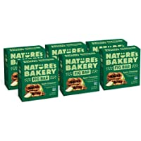 Nature's Bakery Whole Wheat Fig Bars, Apple Cinnamon, Real Fruit, Vegan, Non-GMO, Snack bar, 6 boxes with 6 twin packs…