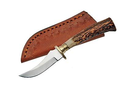 Amazon.com: szco Suministros Mini cuchillo de caza de ciervo ...