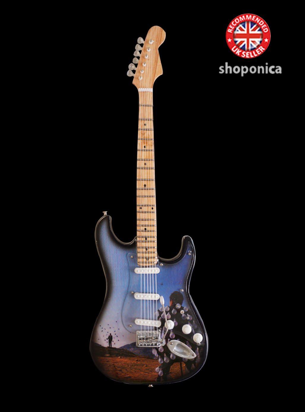 Réplica de guitarra en miniatura – Pink Floyd I wish you were ...
