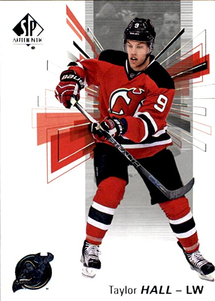 2016-17 SP Authentic Hockey  7 Taylor Hall New Jersey Devils at ... 54d589fe2