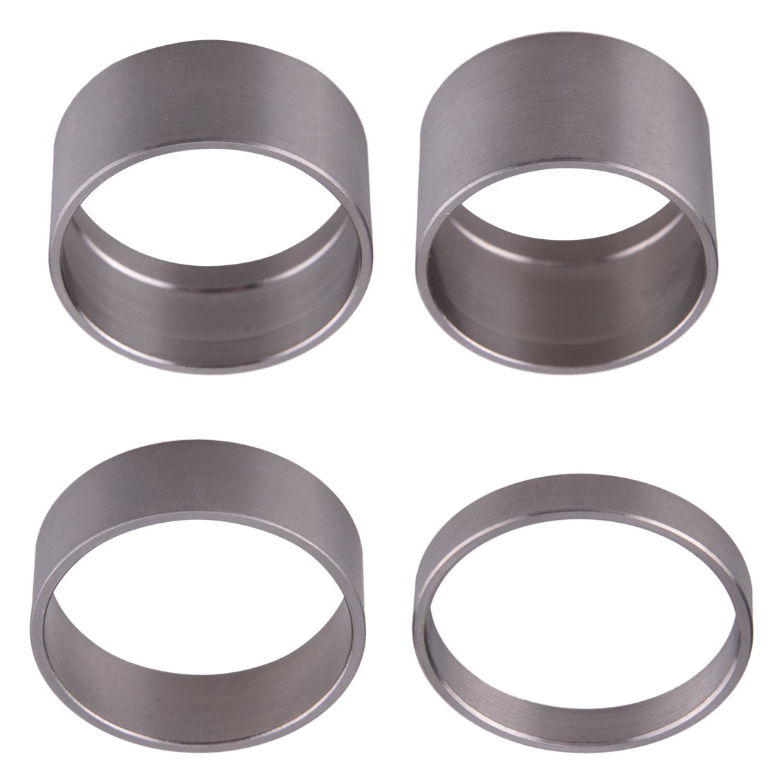 LETAOSK Titanium Alloy Spacer Mountain Bike Headset Washer Front Stem 5/10/15/20mm 4pcs