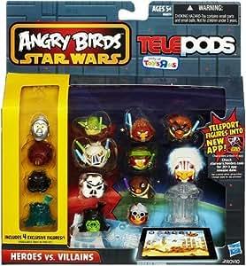 Amazon.com: Angry Birds Star Wars Telepods - Heroes vs ...  Amazon.com: Ang...