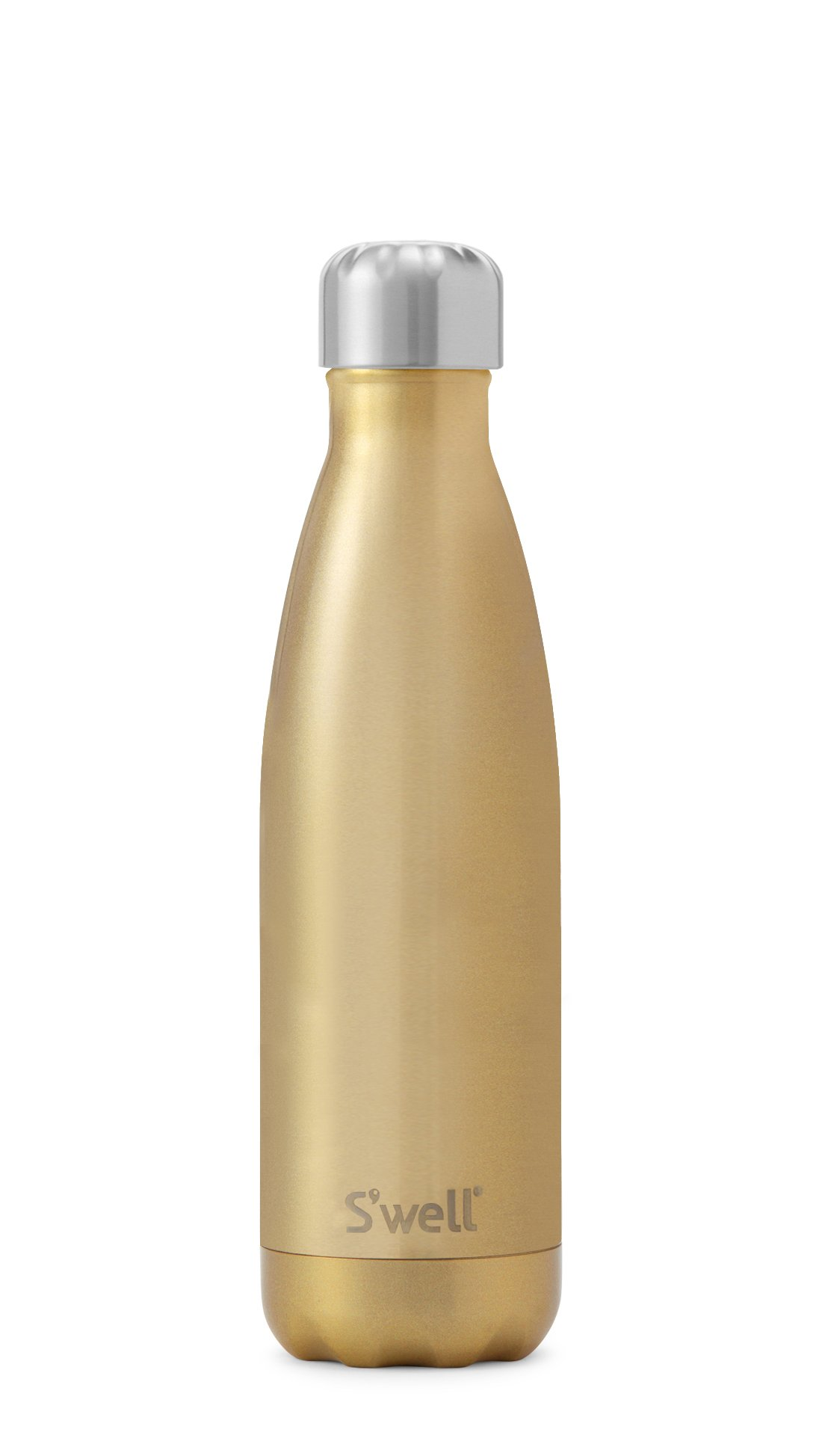 S'well Vacuum Insulated Stainless Steel Water Bottle, 17 oz, Sparkling Champagne