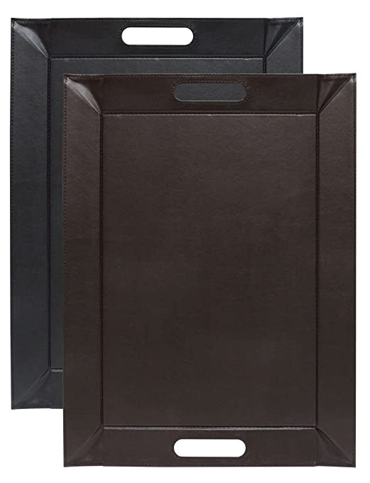 Tradestock FreeForm - negro & marrón Reversible manteles ...