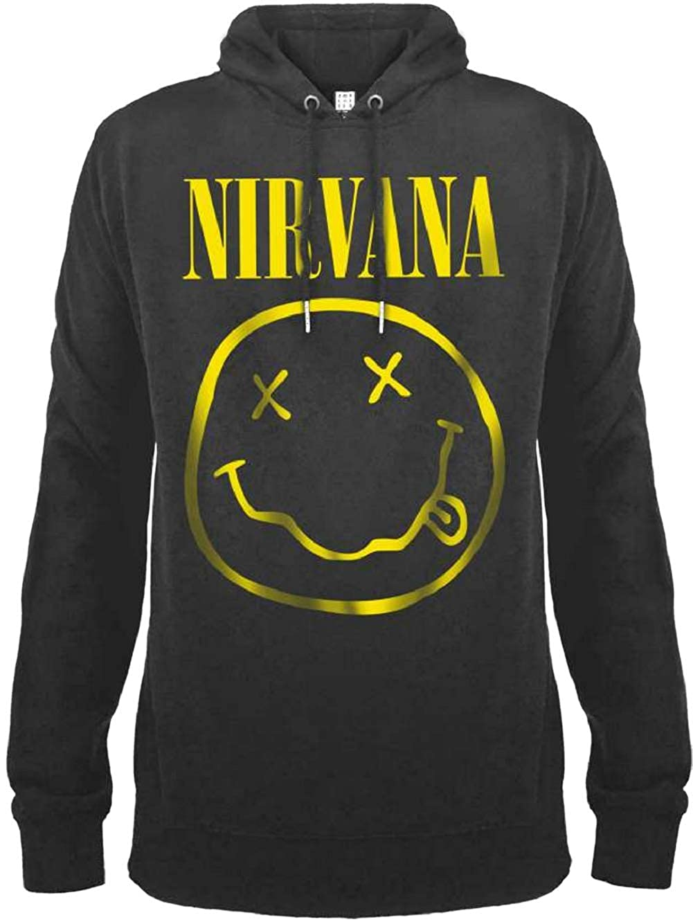 Amplified Nirvana Smiley Face Hoody