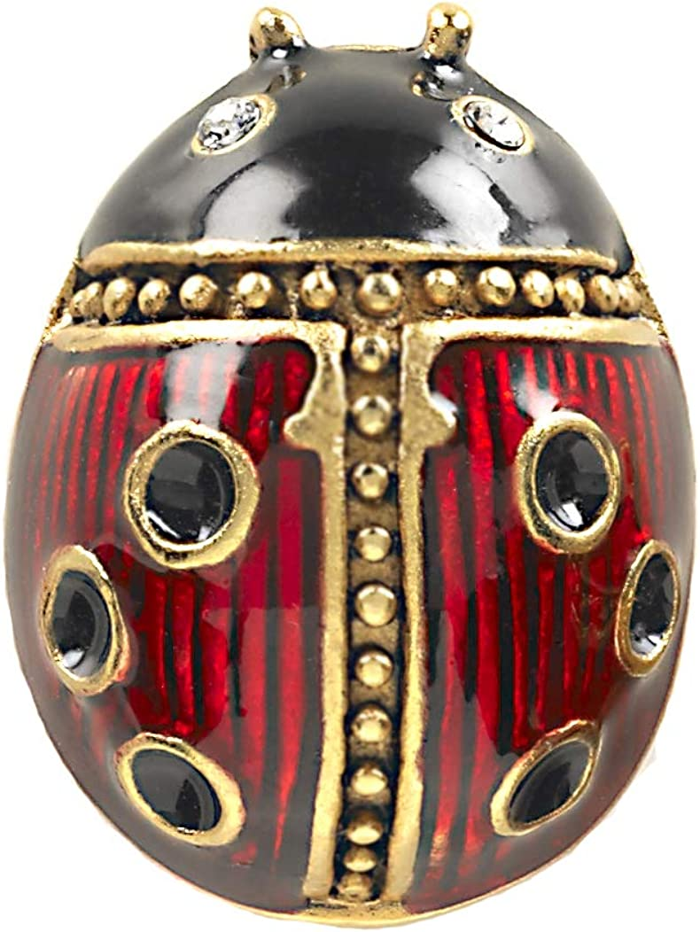 ILANET Museum Reproductions Manufactured in USA - Easter Egg Sale - Ladybug Tie-tack