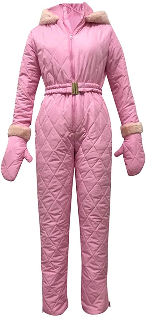 aihihe Women One Pieces Ski Suits Jumpsuits Overalls Winter Warm Outdoor Snowsuits for Snow Sports Outerwear