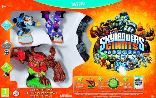 Skylanders Giants Starter Pack - Nintendo Wii U (Wii Game U Frozen)