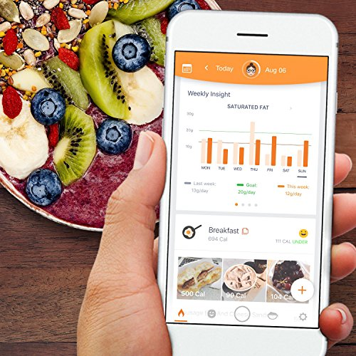 Azumio DNA Test Kit: Diet + Workout Plans + Lactose and Gluten Tolerance + Iron Intake + Cholesterol + 1-Year Premium Subscription (Calorie Mama) powered by Helix by Helix DNA (Image #1)