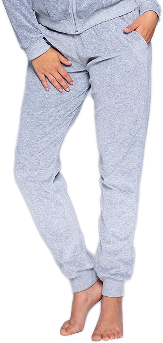Completo a Due Pezzi: Felpa e Pantaloni Homewear Made in EU. Sensis Tuta da Ginnastica//Sportiva Donna