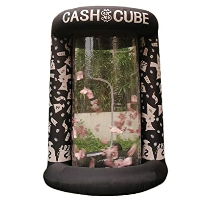 amazon com inflatable cash cube booth for advertisment inflatable