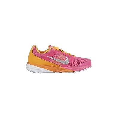 4969a8b831205 Nike Girl s Tri Fusion Run (GS) Running Shoe Pink Pow Bright Citrus