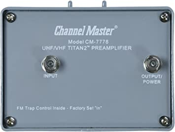 Channel Master CM-7778 - Amplificador de señal de TV (UL, Type""