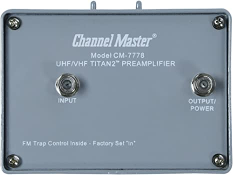 Review Channel Master CM-7778 Titan
