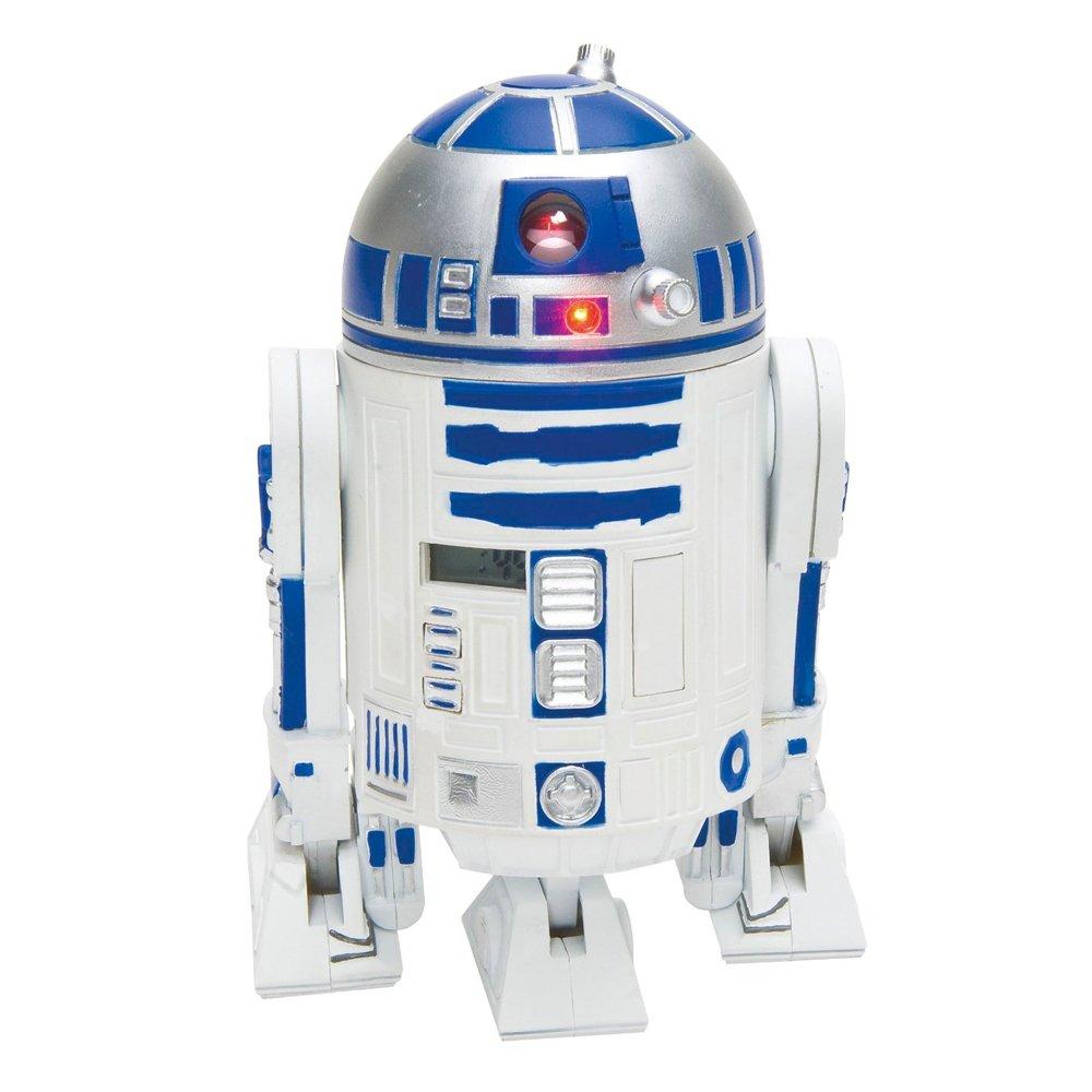 Wesco Star Wars R2D2 Projection Alarm Clock by Zeon