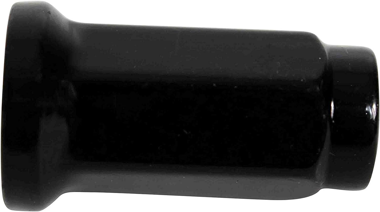 MASSFX 14mm Hex 16 Count Lug Nuts Black and Chrome for Honda and Yamaha Sport ATV 10x1.25 32mm Black Chrome - Yamaha