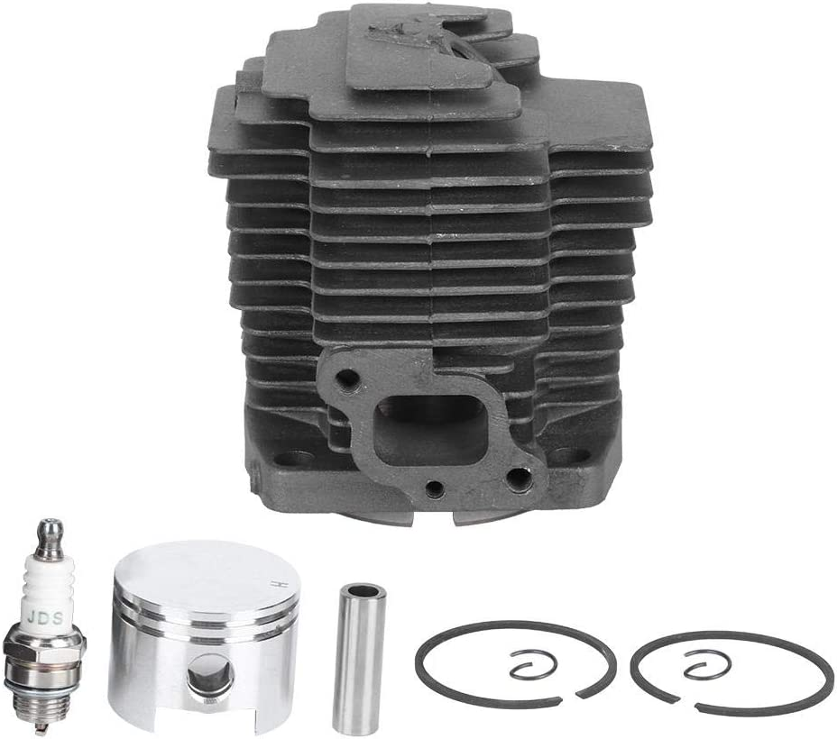 Cikonielf Kit dassemblage de Piston de Cylindre Pratique de 44 mm 11005-2123 Convient pour Le Trimmer Kawasaki KBH48A TH48 HA048J Facile /à Installer