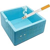 Paradigm Pictures Elegant Ashtray- Blue ash Tray for Desktop Desk-Gift for Men Boys