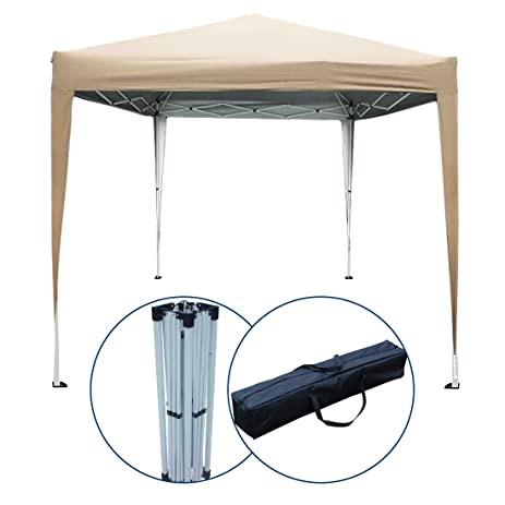 Peaktop 10 Feetx10 Feet EZ Pop Up Canopy Party Tent Commercial Tent Gazebo Beach Sun Shade  sc 1 st  Amazon.com & Amazon.com: Peaktop 10 Feetx10 Feet EZ Pop Up Canopy Party Tent ...