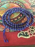 Genuine Lapis Lazuli Mala 108 Beads for Meditation