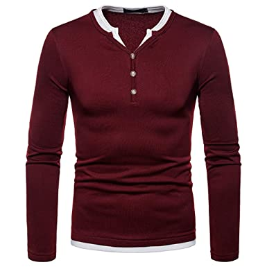 4c1bf061aa57 SamMoSon Men's Cardigan Jacket Sweat,Winter Jacket Warm Jacket and Placket  Leisure Coat Outwear Fashion. Roll over image to zoom in