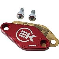 Obturador de bomba de aceite 50 A caja Artek para Minarelli 50 AM6-Derbi 50 Senda GPR rojo