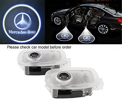 Amazon.com: Iluminación LED para puerta de coche, proyector ...