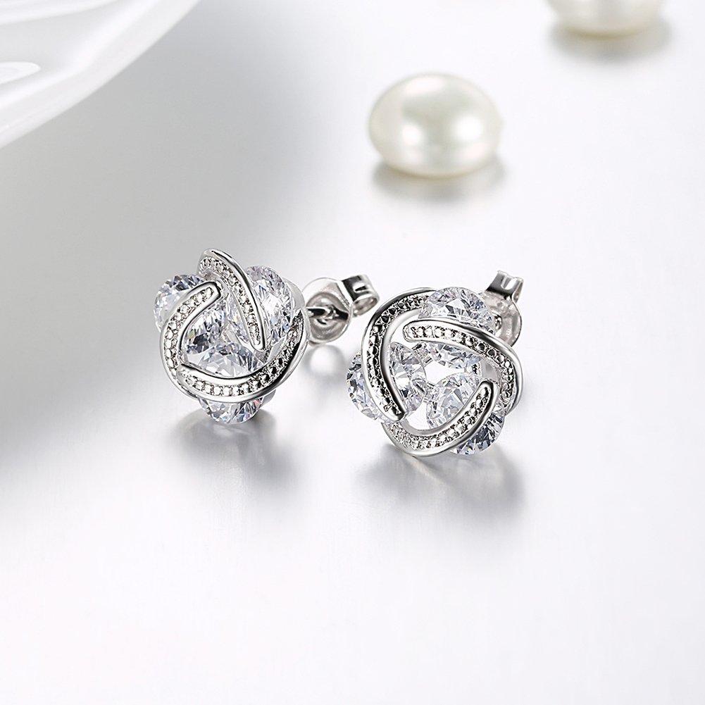 Earrings-Women-Teens-Girls-Crystal-CZ-Birthstone-Stud-Earrings-Jewelry-Women-18K-Rose-Gold-Plated