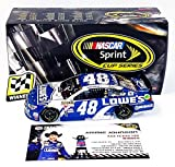 AUTOGRAPHED 2015 Jimmie Johnson #48 Lowes Racing Team AAA TEXAS 500 WINNER (Raced Version) Hendrick Motorsports Signed Lionel 1/24 NASCAR Diecast Car with COA (#155 of only 677 produced!)