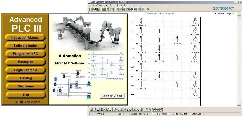 Amazon Com Plc Ladder And Logic Programming Software Virtual Plc Simulation Developing Learning Automation Ai