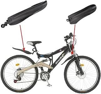 sungpunet negro bicicleta Carretera neumático delantero Guardabarros trasero Guardabarros Set de guardabarros para bicicleta de montaña accesorios: Amazon.es: Deportes y aire libre