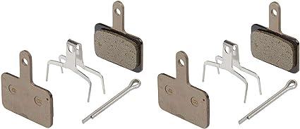 Bicycle Bike Disc Brake Pads Semi-Metallic Bicycle Resin for Shimano 1//2//4 Pairs