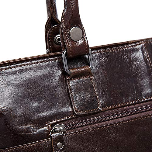 Jxth Leather Gray Bag Strap For Adjustable Messenger Briefcase Crossbody Retro And Classic Shoulder Coffee Satchel Work Day color School Men's Vintage rPYqr8waH