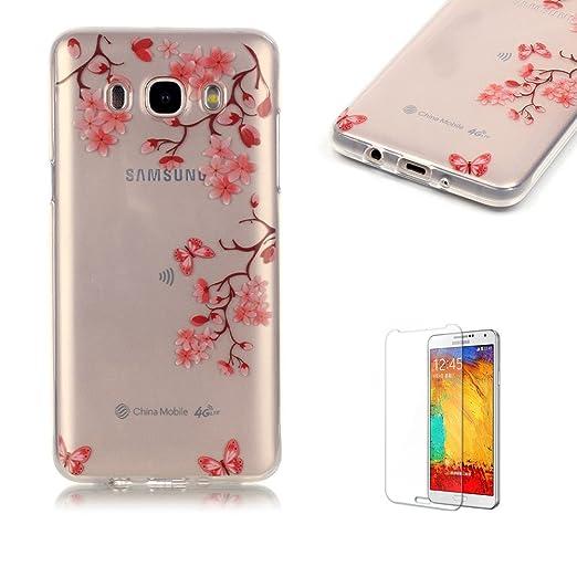 41 opinioni per per Samsung Galaxy J5 (2016 Model) Custodia,Funyye Morbida Sottile TPU Gel