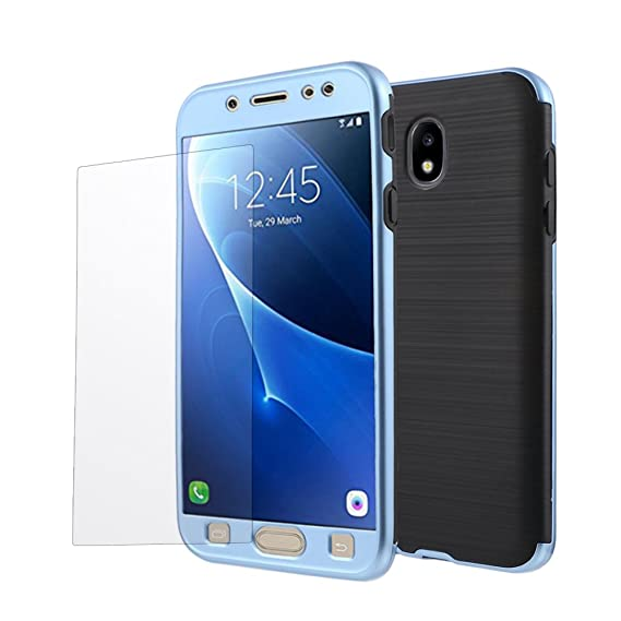 Amazon.com: Galaxy J7 Pro Case, 360 Degree Full-body ...