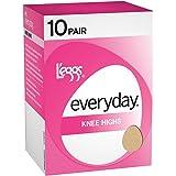 L'eggs womens Everyday Knee Highs RT 10 Pair(39900)