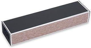 Alliage d'aluminium léger ponçage Barre de frottement Guitare frette fichier de Mise à Niveau Guitare Outil de Mise à Niveau Basse Guitare Accessoires - café