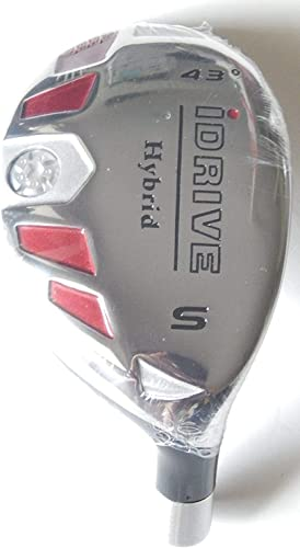 New Integra I-Drive Hybrid Golf Club SW-43 Right-Handed with Graphite Shaft, U Pick Flex